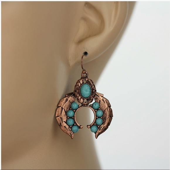 Jewelry - Western Squash Blossom Earrings